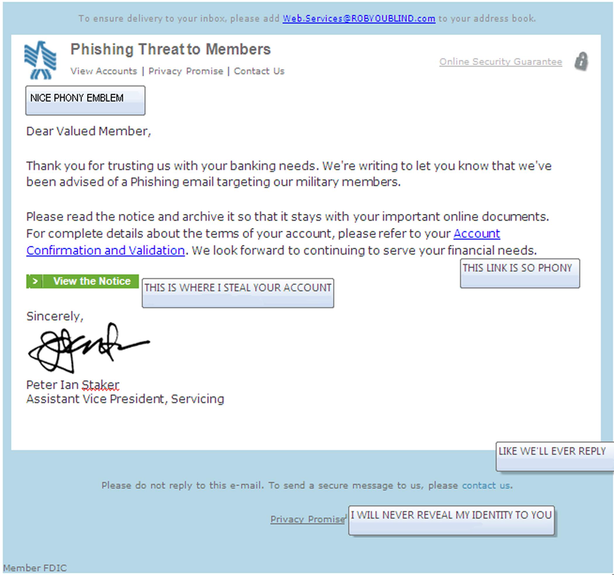 The Anatomy of Phishing Emails